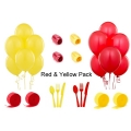 Red & Yellow Party Decoration Pack (Firefighter)