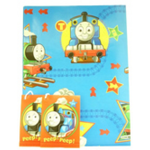 thomas the train wrapping paper Tableware and cateringinvitations, cards and wrapparty bags and  thomas  the tank engine paper plate - 23cm paper party plate tom4plat.