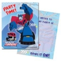 Transformers Party Invites