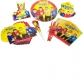Wiggles Party Pack  72 pieces