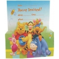 Winnie the Pooh Party Invites