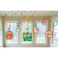 Yo Gabba Gabba Party Hanging Decoration Pack (6)