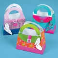 Girlie Handbags Favor Boxes ~  (6) empty