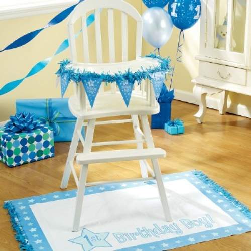 One Special Boy High Chair Decorating Kit